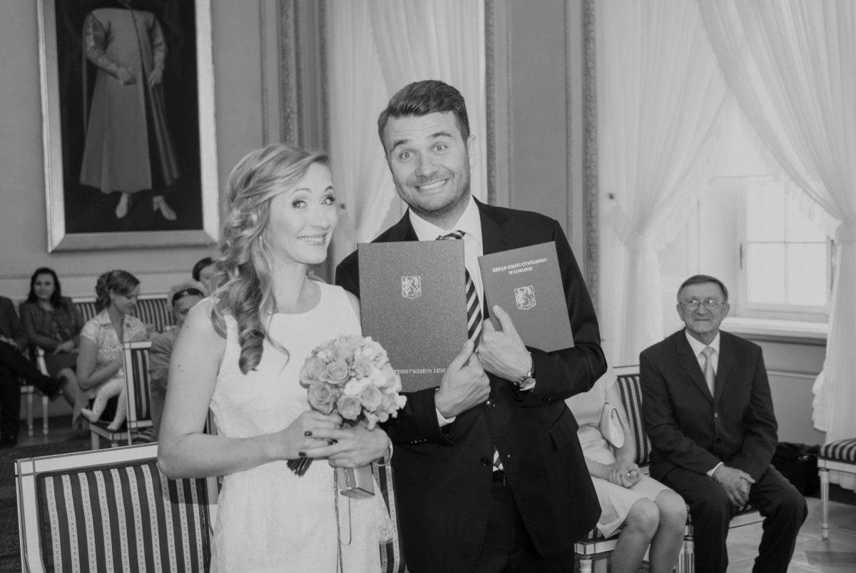 Kameralny ślub wTrybunale Koronnym