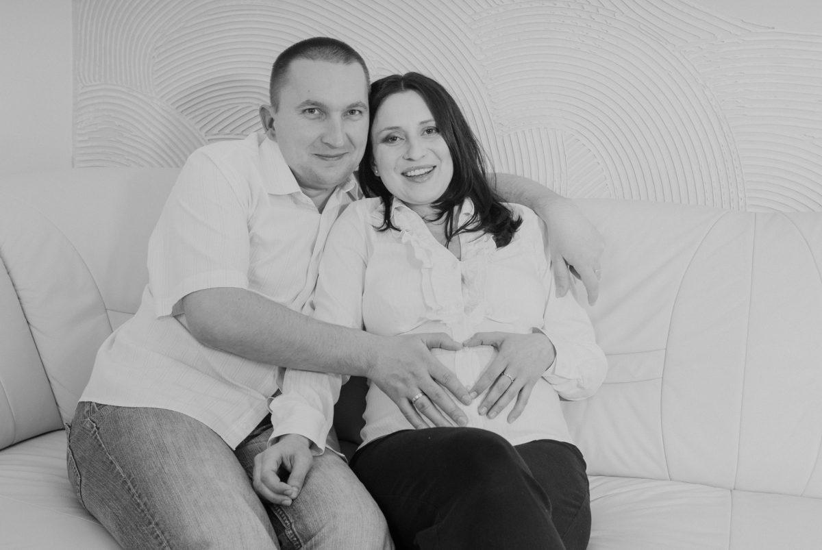 Ala & Artur - Sesja ciążowa 2 Sesja rodzinna