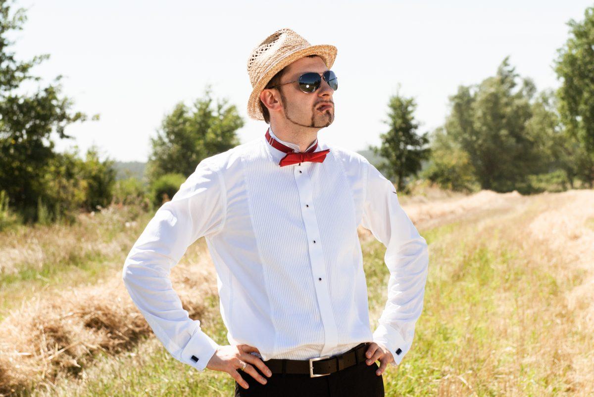 Portret pan młody - Fotograf ślubny Lublin