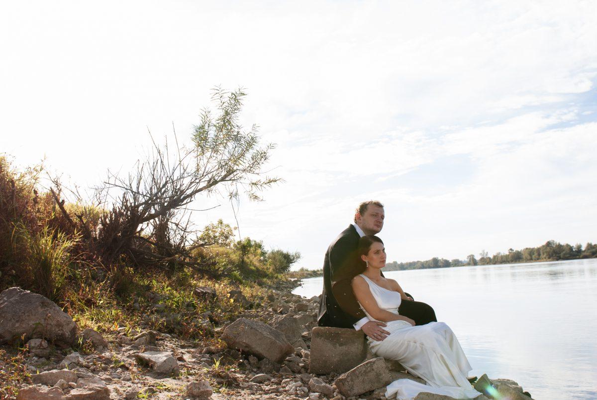 Naturalna fotografia ślubna Lublin