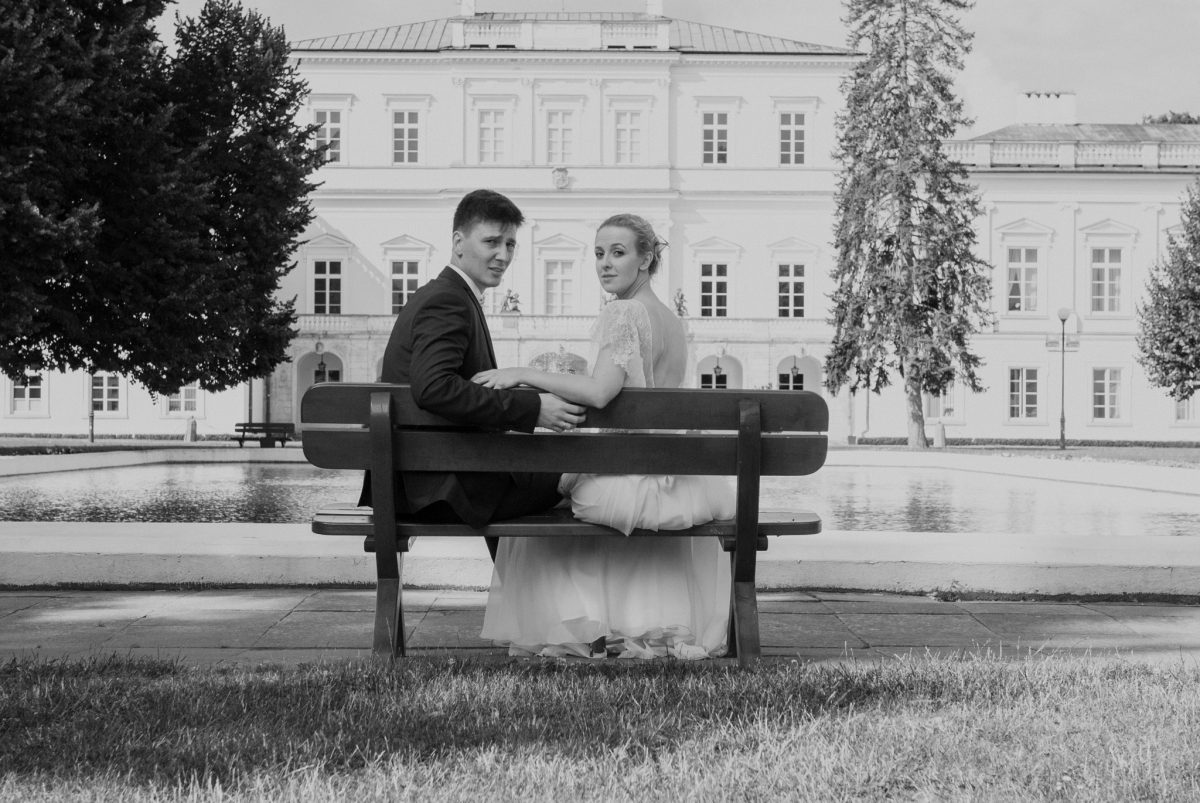 Wesele wTrzech Koronach wPuławach isesja wparku « Chill & Love