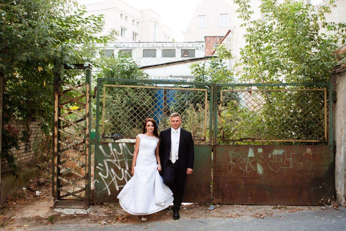 Naturalna sesja ślubna wLublinie