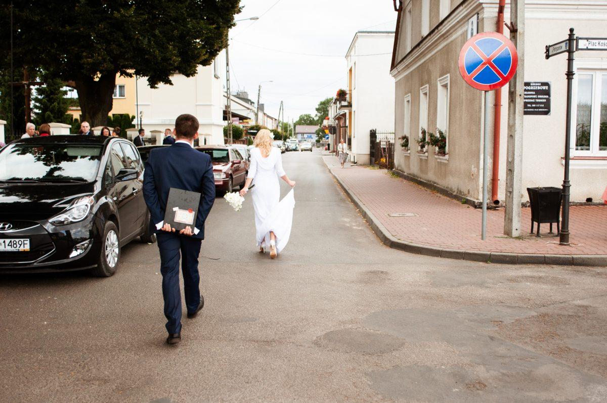 Reportaż ślubny Dwór Leśce